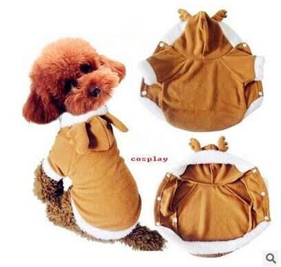 Pet Vestiti Del Cane Per Gli Animali Domestici Abbigliamento Halloween Milu  Deer Costume Ropa Para Perros Natale Vestiti Cosplay 80144892bb8