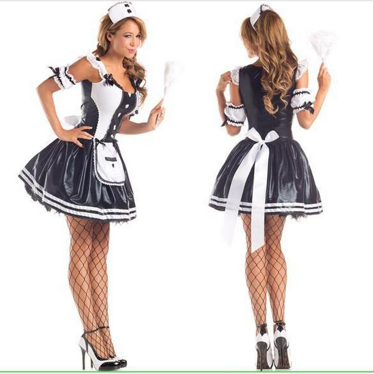 773191b7391f new maid sexy costumes women Sexy lingerie hot sexy underwear lovely french  maid lace sexy miniskirt