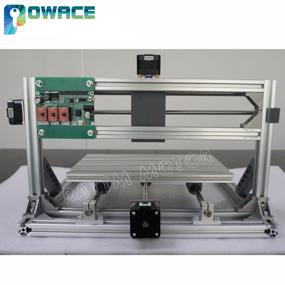 [Ukraine Promotion] 3018 3 Axis CNC Wood Router Engraving Milling DIY Laser Machine GRBL Control+ER11 Collet