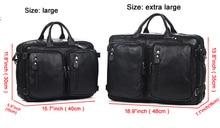 Fashion Multi-Function Full Grain Genuine Leather Travel Bag