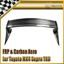 ЭПР Стайлинга Автомобилей Полный Углеродного Волокна TRD Стиль Задний Спойлер Для Toyota Supra MK4