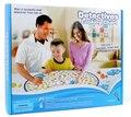 Venda quente do bebê jogar mat brinquedos educativos primeiros jogos de puzzle para crianças de Montessori detetive investigando gráfico jogos de criança do pai