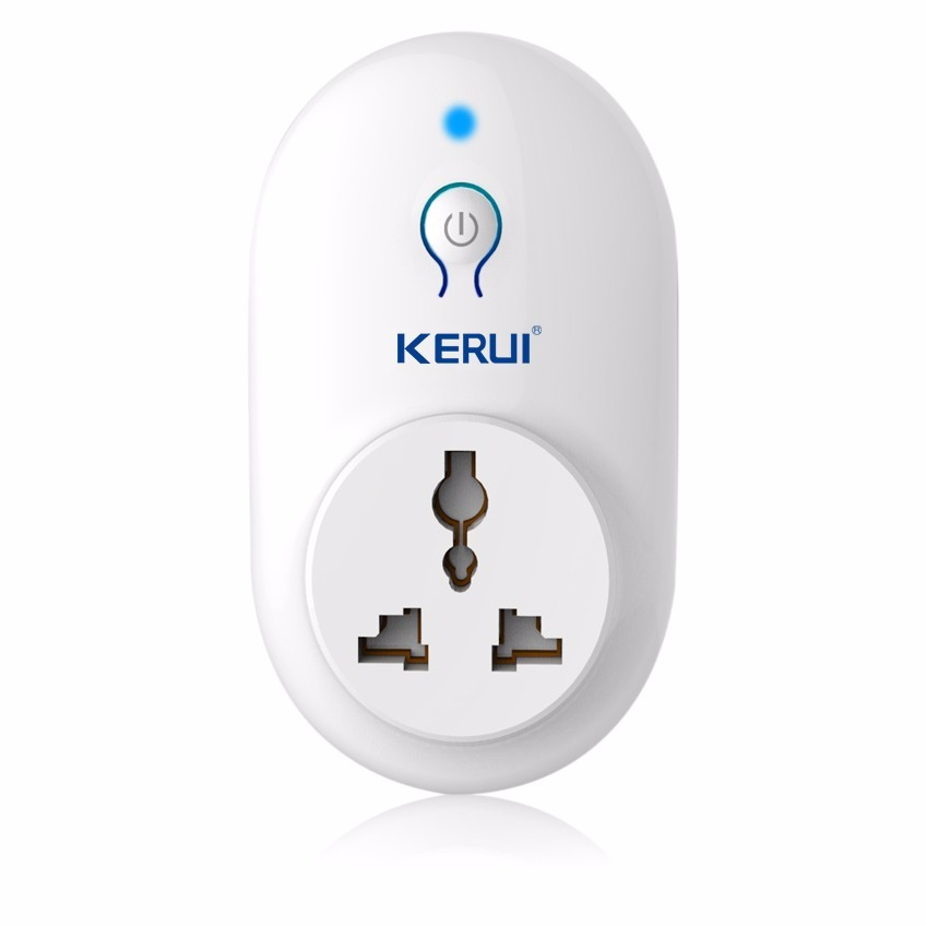 Back To Search Resultssecurity & Protection Supply Original Secrui S71smart Socket Plug Wireless Remote Socket Adaptor Power On And Off With Phone Us Eu Uk Plug Security Alarm