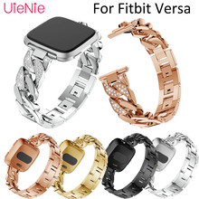 Fitbit Versa Frontier/classic replacement wristband For Fitbit Versa smart watch single row chain for Fitbit Versa bracelet цена