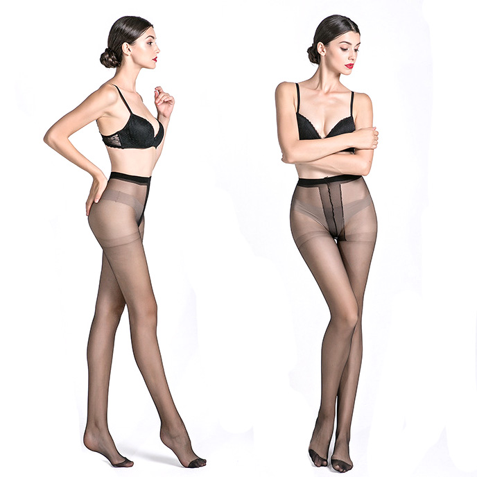 Buy Super Elastic Magical Stockings Women Tights Sexy Silk Stockings Seamless Black Skin Colors Transparent Pantyhose Collant Femme