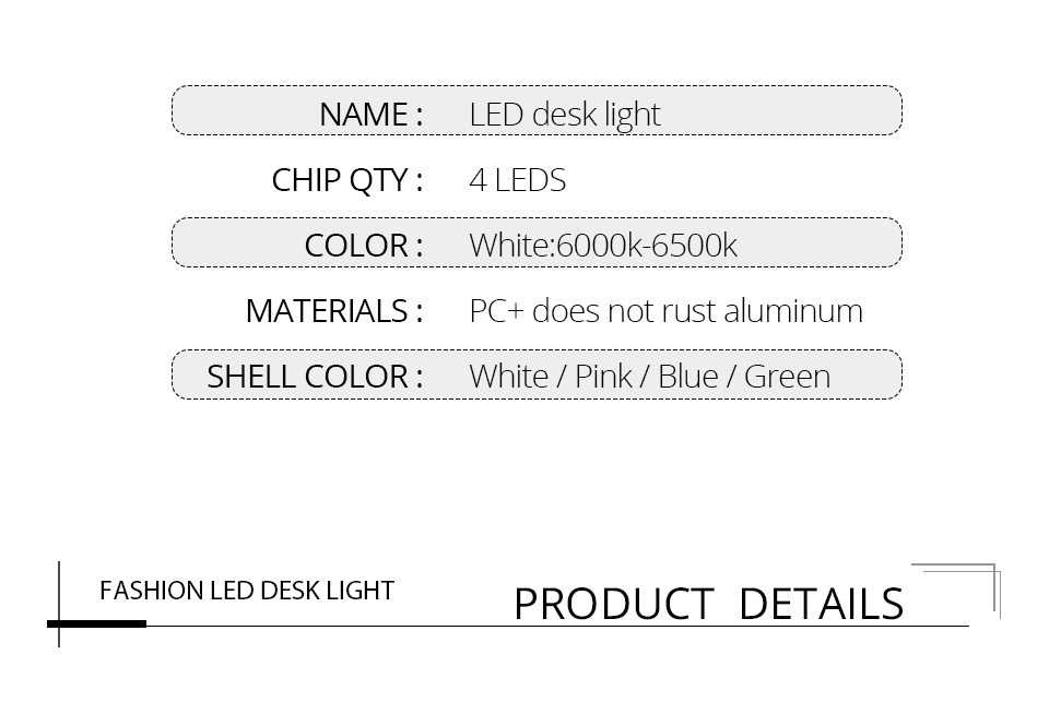 Table Lamp Folding Eye-Protection Luminaria Table Light (3)
