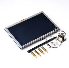 5 дюймов ЖК-дисплей HDMI Сенсорный экран Дисплей модуль TFT ЖК-дисплей 800*480 банан Pi Raspberry Pi 2 Модель b/ b +