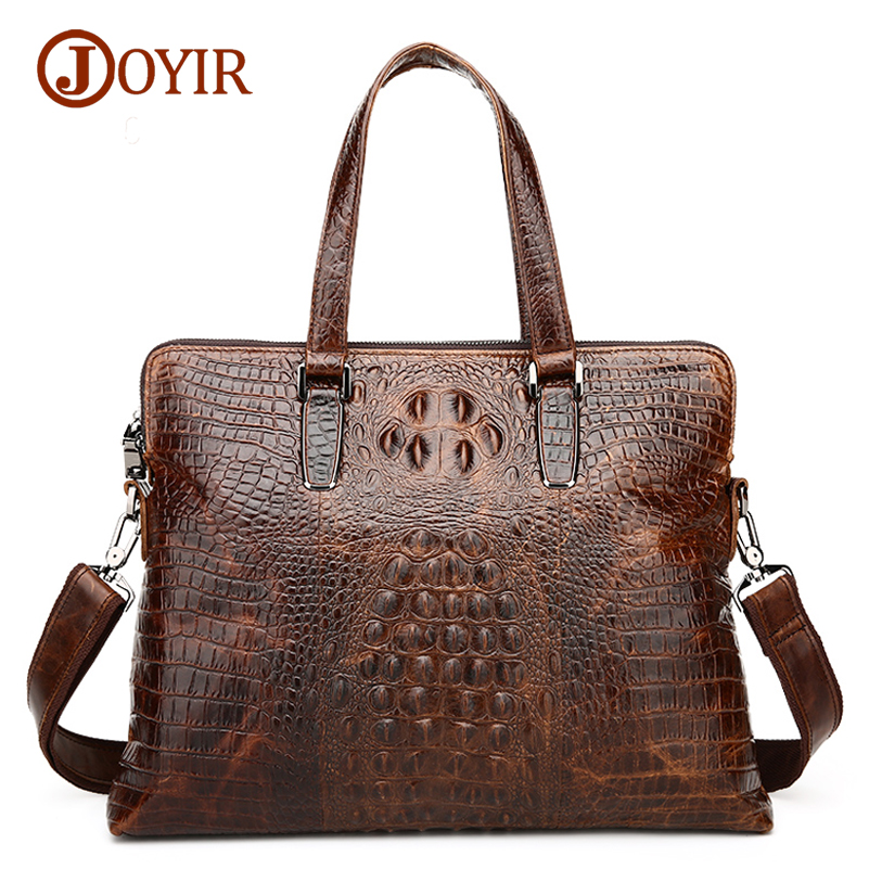 Joyir 2017 men briefcase genuine leather bags handbags casual business laptop tote men's crossbody shoulder bag men's bags 1230H mva genuine leather men bag business briefcase messenger handbags men crossbody bags men s travel laptop bag shoulder tote bags