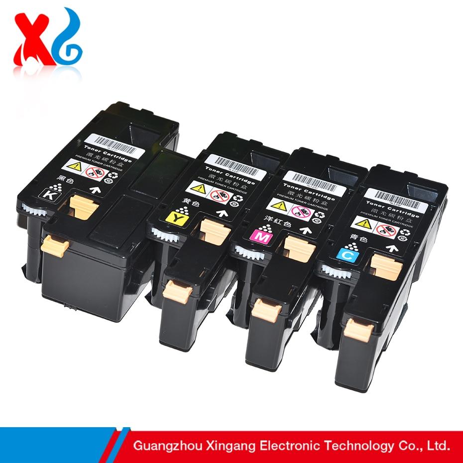 Xg cmyk toner cartridge for xerox phaser 6000 workcentre 6010 6015 106r01631 106r01632 106r01633 106r01634 sa