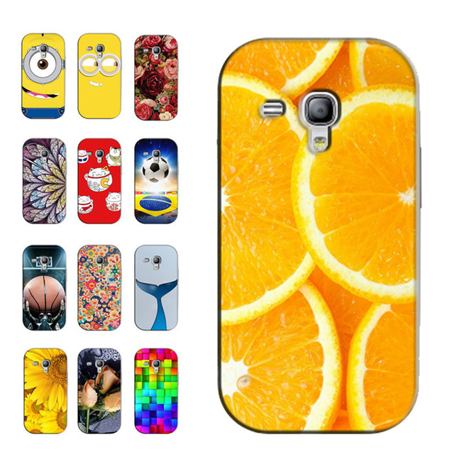 Printed Phone Cases for Samsung Galaxy S3 Mini (SIII Mini) GT-i8190 i8200 4.0 inch Original Back Cover Case Skin Coque Capa