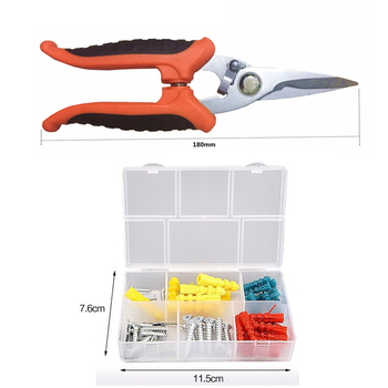 45pcs Home Repair Tool Set Kit De Ferramentas De Hardware Uso Diário De Longa Duração Durável Ferramentas Perfeito Conjunto De Ferramentas De Mão Para DIY Carro Para Casa