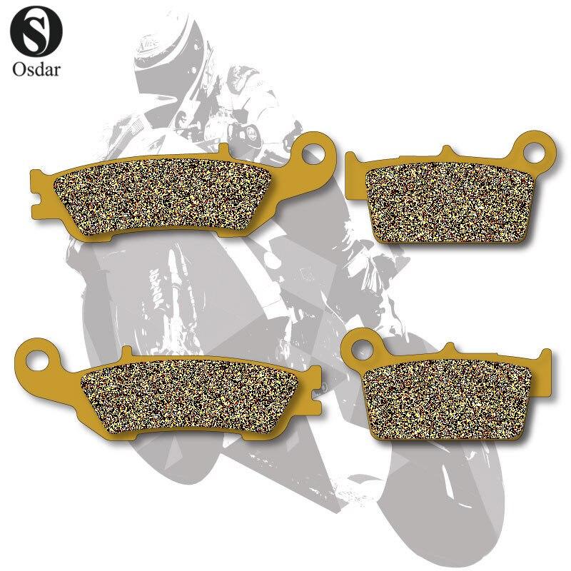 Motorcycle Brake Pads Front+Rear For YAMAHA YZ 125 08-13 YZ 250 07-13 YZ 450 08-13 yamaha 125 yz цепь