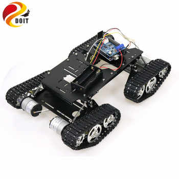WiFi/Bluetooth/PS2 Control RC 4wd Robot Tank Chassis Kit with UNO R3 Board+ Motor Driver Board for Arduino DIY - DISCOUNT ITEM  0% OFF All Category