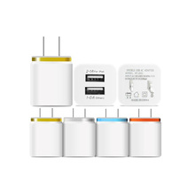 Universal 2 USB Quick charge 3.0 5V 3.2A for Iphone 7 8 X EU US Plug Mobile Phone Fast charger Charging for Samsug s8 s9 Huawei 3 usb quick charge 3 0 5v 3a eu us for iphone 7 8 eu us plug mobile phone fast charger charging for samsug s8 s9 xiaomi note 7
