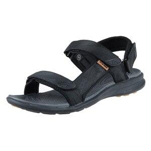 Image 2 - Grition男性サンダル屋外スリッパ男性の靴フラット軽量カジュアルサンダル通気性2020コンフォートシューズ46 #