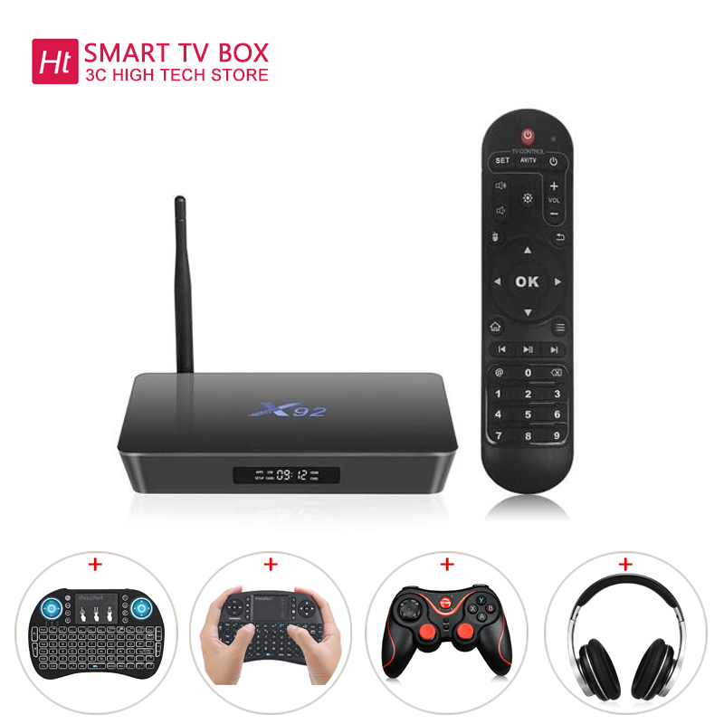 X92 2.4GHz / 5.8GHz WiFi Amlogic S912 Octa-core TV Box Cortex-A53 Real-time Display TV Online Player HD 2.0a Connectivity Media