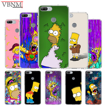 Homer J.Simpson Funny Unique Silicone TPU back case For Huawei Honor 6X 7 8 7X 8X MAX 9 10 Lite V9 Play V20 8C Gift Customize