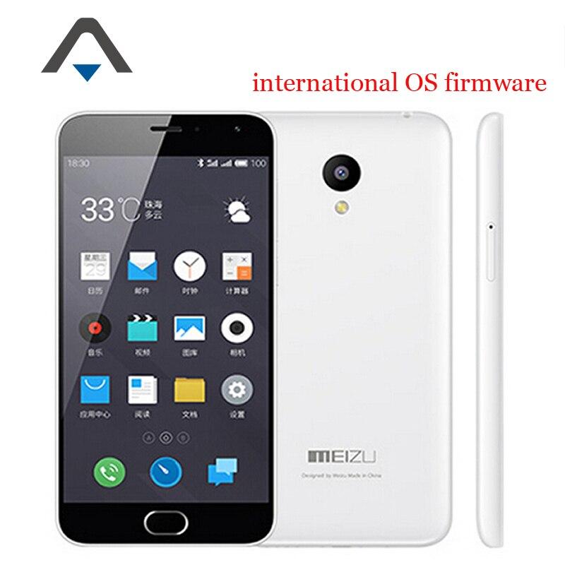 Original Meizu M2 Note 2 LTE 4G CellPhone MTK6753 Octa Core 5 5 1920X1080 2GB RAM