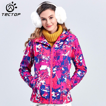 Winter Jacket Women Hiking Women Outdoor Jackets Climbing Windproof Waterproof Women's Sport Coats Softshell Jacket