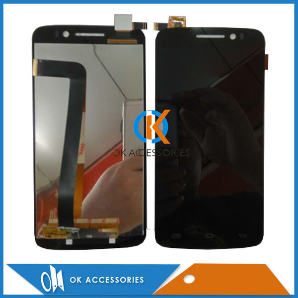 For Prestigio Multiphone PAP 7600 PAP7600 Duo LCD Dsiplay With Touch Screen Digitizer Black Color 1PC/Lot