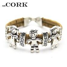 Mb cork португальские пробковые браслеты милые мягкие оригинальные