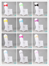 100 X Lycra Bands For Chair Cover Spandex Chair Bands for Wedding Chair Cover Sash Bands