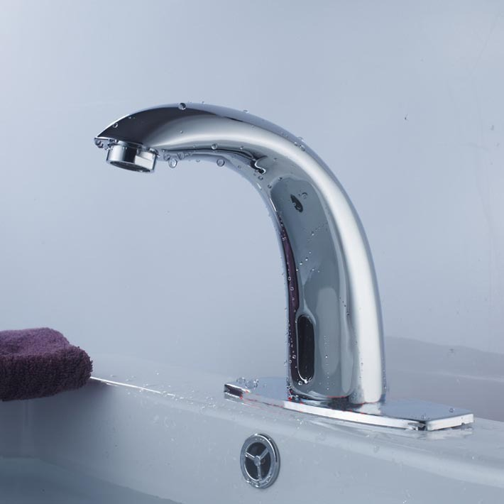 Automatic Sensor Faucet With Single Cold Water For