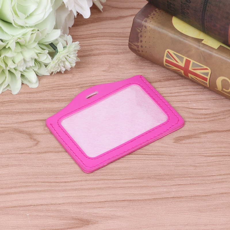 SFDVBB ID Window Business Work Card ID Badge Holder Case Badge Horizontal Type in Card ID Holders from Luggage Bags