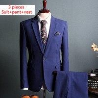 Cưới Suit Groom Tuxedo Rễ Phụ Suit Tùy Chỉnh Làm Người Phù Hợp Với 3 Cái Thời Trang Đầm Blazer Brown Men Phù Hợp Với Mùa Xuân Mùa Thu áo khoác ngoài