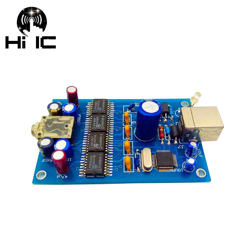 Aus Dem Ausland Importiert Hifi Digital Audio Decoder Parallel 4 Straße 4 * Tda1543 Dac Eingang Otg/usb-ausgang 3,5mm Verstärker Diy Soundkarte Tragbares Audio & Video