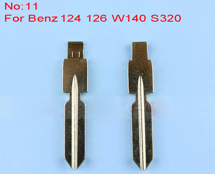 Replacement Flip Floding Remote Key Blade For <font><b>Mercedes</b></font> Car key Blank For Benz 126 <font><b>124</b></font> W140 S320 image