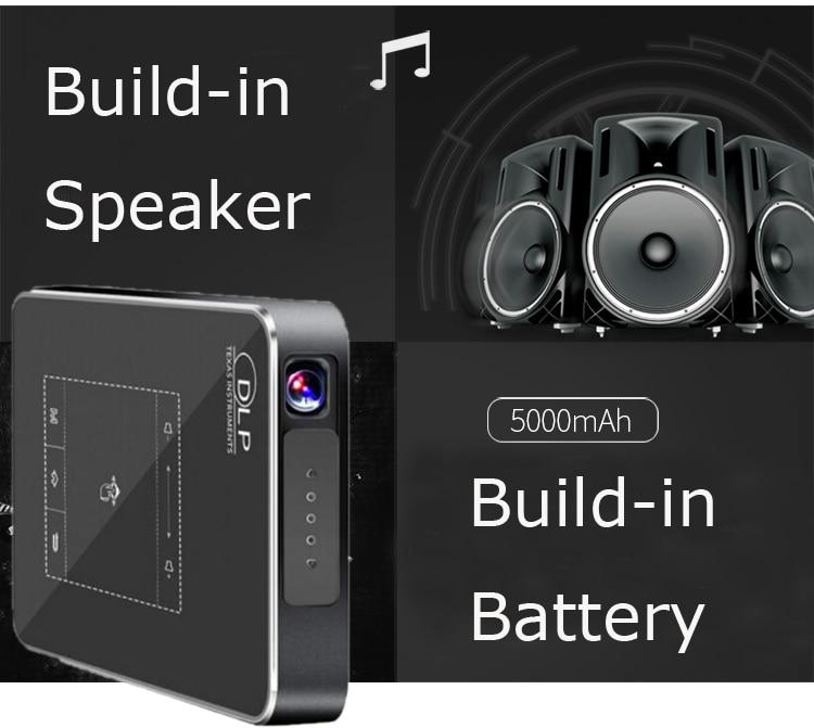 speaker & battery