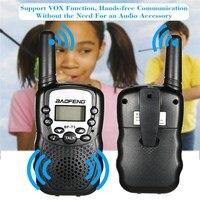 ham cb רדיו 2 PCS Baofeng BF-T3 מיני ילדים מכשיר הקשר Way CB Ham UHF רדיו תחנת משדר Boafeng PMR 446 PMR446 סורק נייד (5)