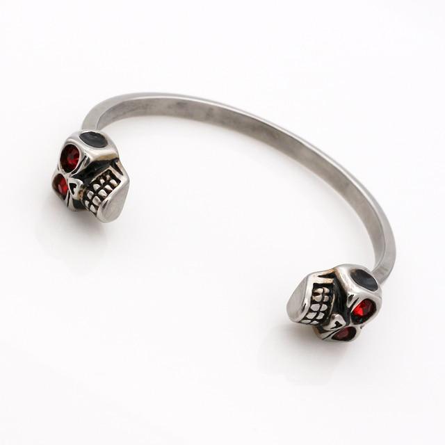 Skull Hug Design Bangle