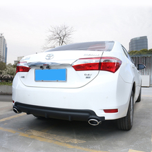 lsrtw2017 abs car rear bumper for toyota corolla 2013 2014 2015 2016 2017 2018 E170 цена в Москве и Питере
