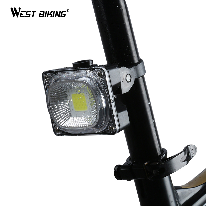 WEST BIKING Super Bright Bike Taillight USB charging Bicycle Seat Post LED Flashlight Lamp COB Source Rainproof Cycling Light туфли nine west nwomaja 2015 1590