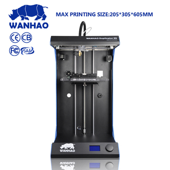 China New Design Desktop FDMPLAPVAABS filament wanhao D5S 3d color Printer Machine with High Precision and printing speed