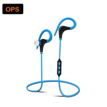 2017 New one for two Wireless Bluetooth 4.1 Supra-aural earphone Anti shedding ear headset Sport music headphone for Mobile phon