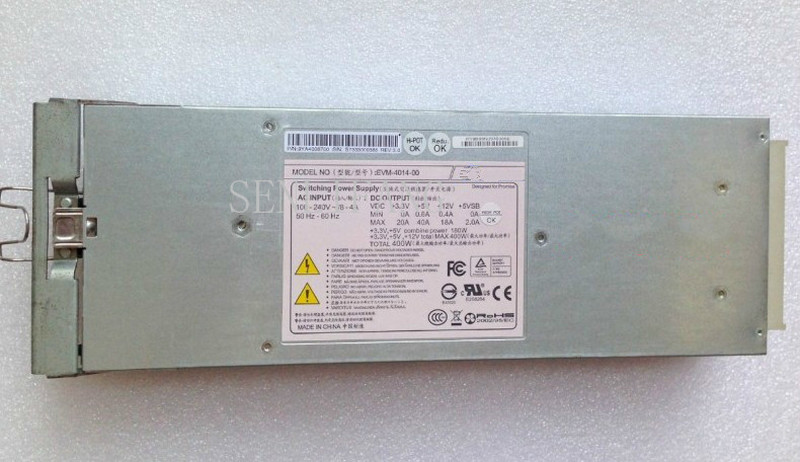 For 2U Hard Disk Enclosure Power EVM-4014-00 400W Disk Array Power