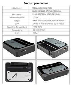 Image 2 - CINEEYE 5G HDMI Transmissão De Imagem Sem Fio Transmissor de Vídeo Sem Fio Mini DH 3D LUT Carregamento para Telefone Andriod IOS iPhone iPad