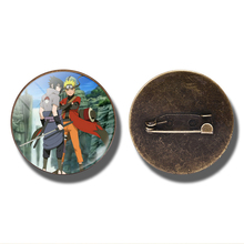 Fantastic Naruto & Sasuke Pins / Badges