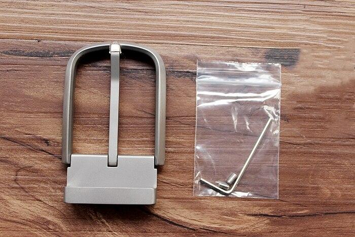 Titanium Anti-allergy Belt Buckle Pin Buckle Waist 3.5 CM Super Light Sweat-resistant Waist Belt Head