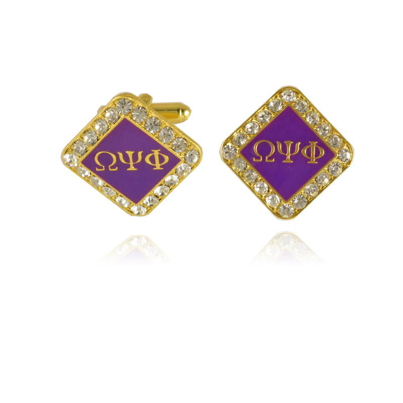 10Pair Omegaa Psi Phi Fraternity Cufflinks