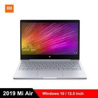 2019 Xiaomi Mi Air Laptop 12.5 inch Windows 10 Notebook Intel Core m3 8100Y Dual Core 1.1GHz 4GB RAM 128GB SSD HDMI Computer