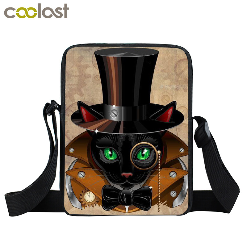 7579b8c3d77e US $8.26 35% OFF|Steampunk Mini Messenger Bag Young Men Women Punk Daily  Bag Rottweiler Dog Crossbody Bags For Ladies Bags Bolsos Carteras Mujer-in  ...