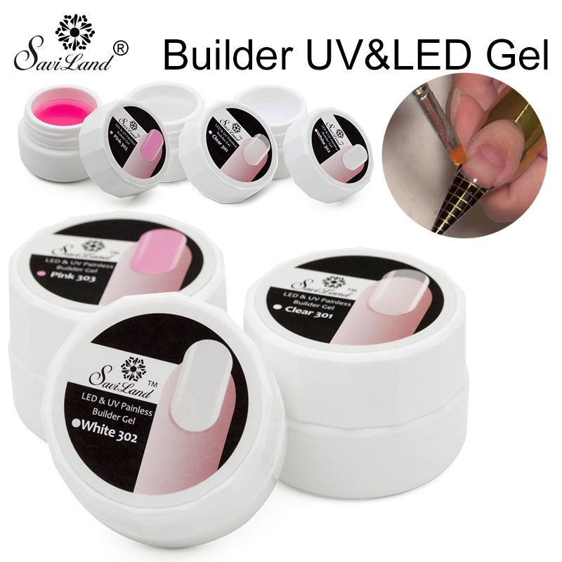 Led-гели для наращивания ногтей