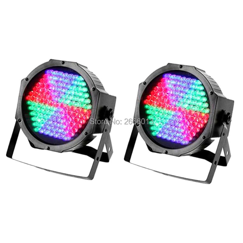 2pcs/lot 127 Led Stage Par Lights RGB DMX512 Wash Light Stage Lighting Home Dance lamp Sound Activated Colorful Flash Lighting 2pcs high quality 512 dmx console stage light equipment 192 dmx controller for stage lighting led par beam lights
