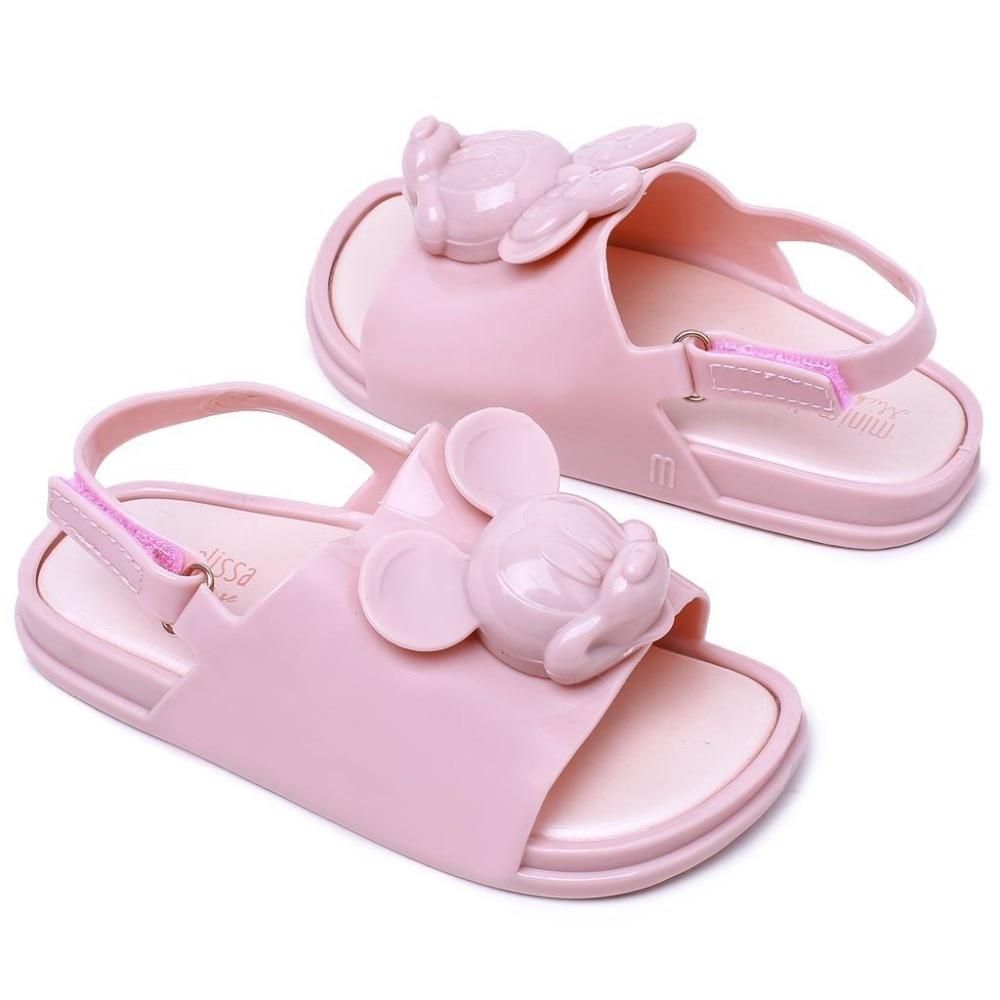 mini sandały dziewczęce do komiksów z miękkiego PVC letnie buty - Obuwie dziecięce - Zdjęcie 2