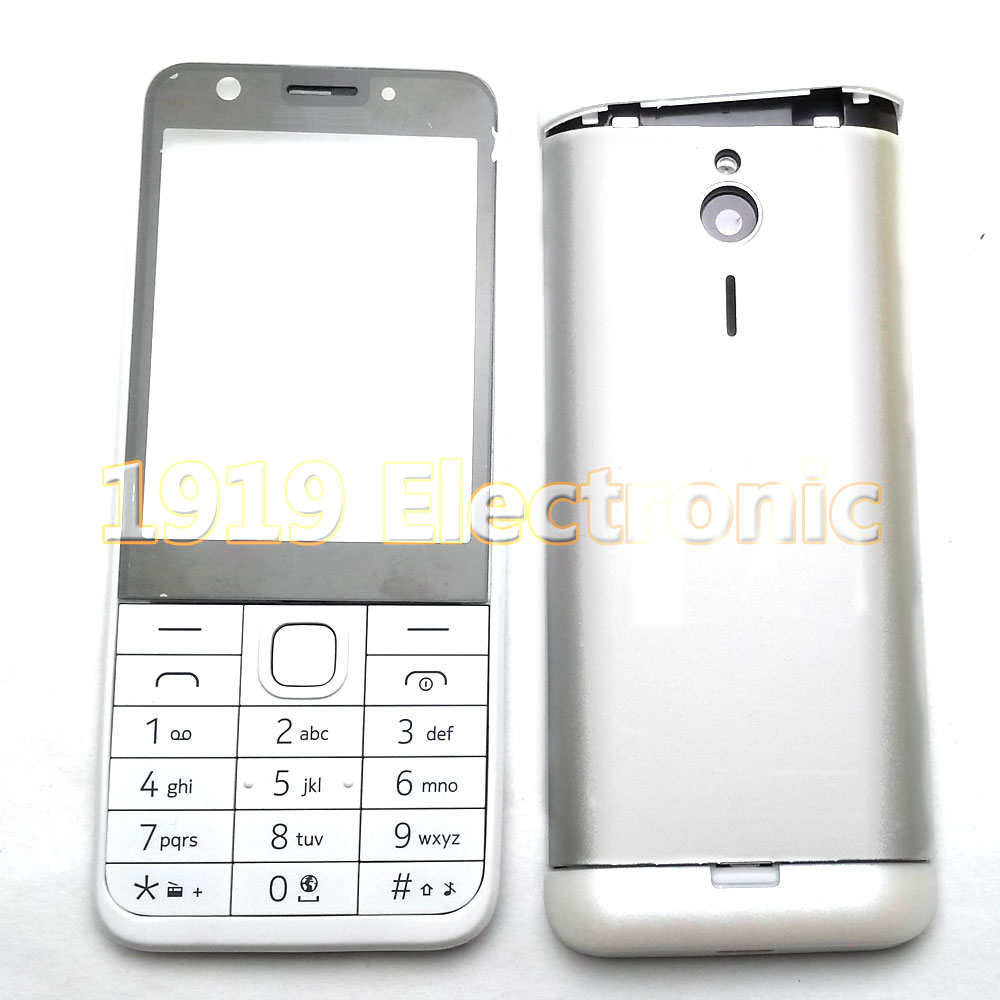 Case Nokia Mobile-Phone-Housing-Cover New Or English 230/230ds/Rm-1172 Russian-Keypad