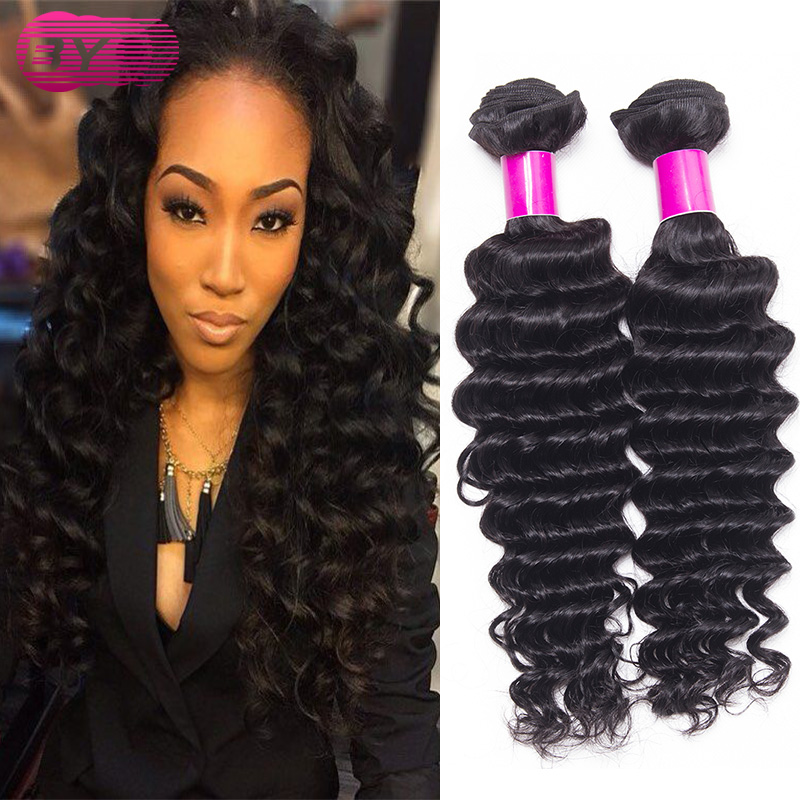 Brazilian deep wave hairstyles 3 pcs queen beauty weave cod 7a brazilian deep wave hairstyles 3 pcs queen beauty weave cod 7a mink brazilian curly wave virgin human hair in hair weaves from hair extensions wigs on pmusecretfo Image collections